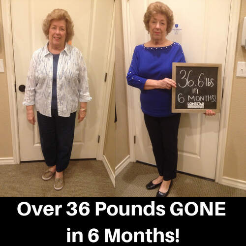 Karen has lost 36.6 lbs in 6 months!