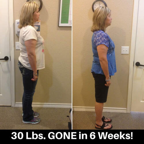 S. Rogers lost 30 lbs in 6 weeks!