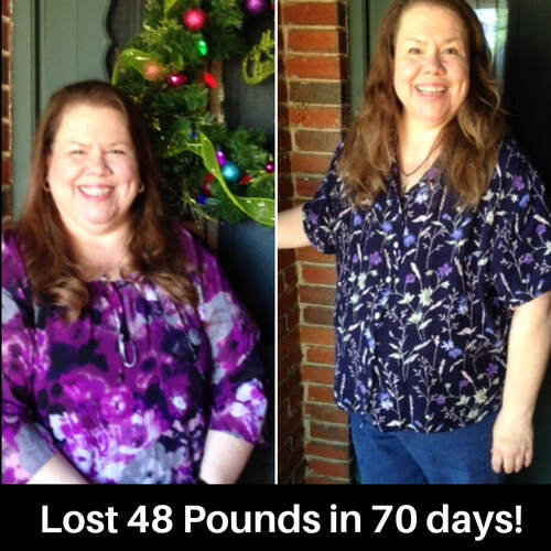 Sharon lost 51.3 pounds in 4 months!