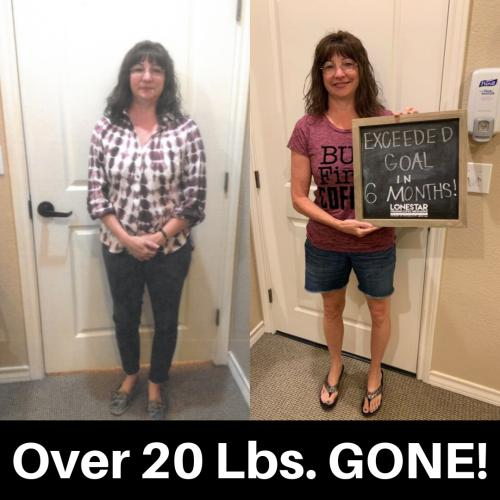 Susan has lost over 42 lbs.