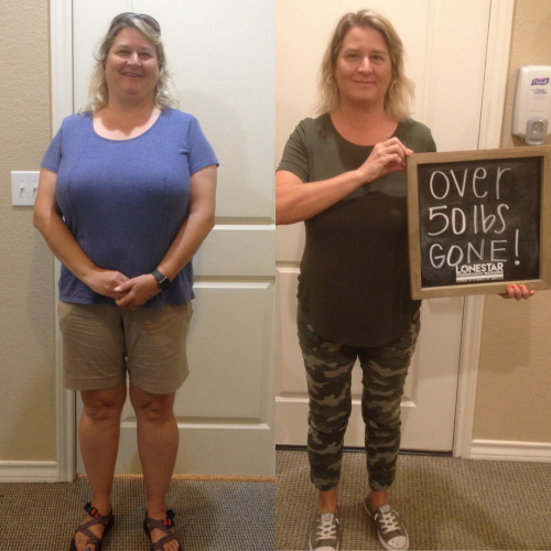Tonya has lost over 50 lbs!