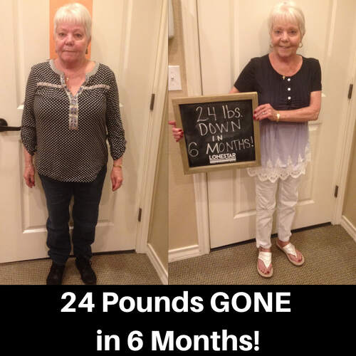 V. Johnson lost 24 lbs in 6 months!